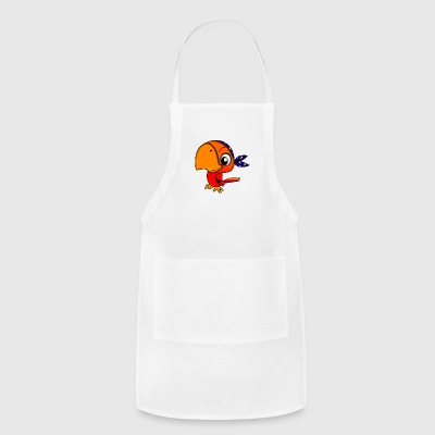 Baby Pirate Parrot - Adjustable Apron