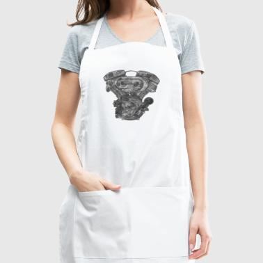 motor grunge - Adjustable Apron