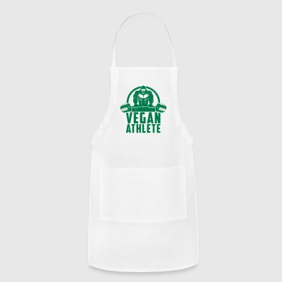 Vegan Athlete Muscle Gorilla Gift - Adjustable Apron