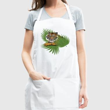 Relaxed Tiger - Adjustable Apron