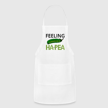 Feeling Ha-Pea (Feeling Happy) - Adjustable Apron