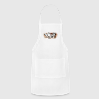 Basket full of kittens - Adjustable Apron