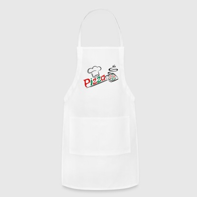 Pizza baker with cooking cap, Italian food. - Adjustable Apron