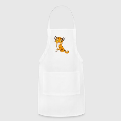 Cute Tiger - Adjustable Apron
