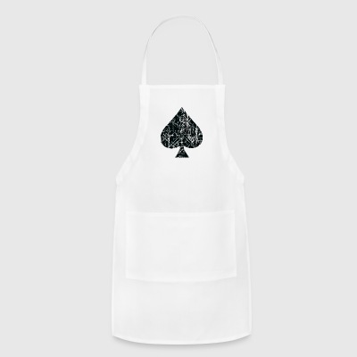 Spades Sign Design - Adjustable Apron