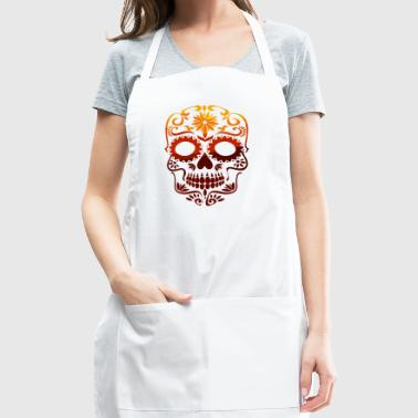 skull. - Adjustable Apron
