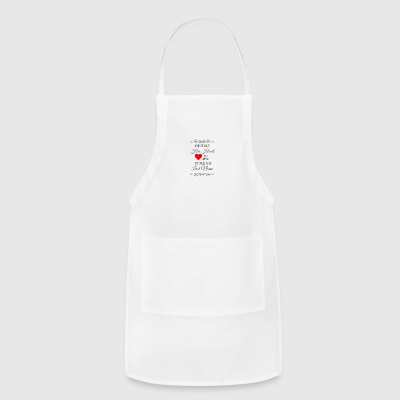 He stole my heart I'm stealing his last name - Adjustable Apron