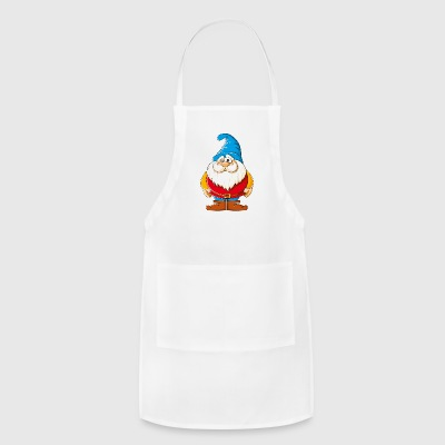 Cartoons-funny-Gnome - Adjustable Apron