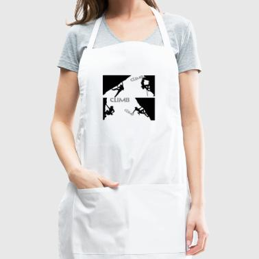 Climb Climb Climb - Adjustable Apron