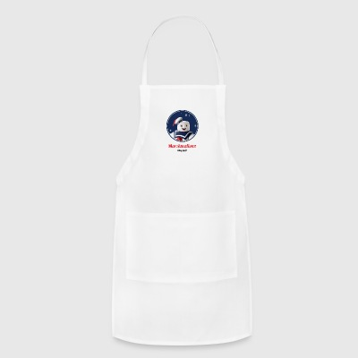 marshmallow stay puft - Adjustable Apron