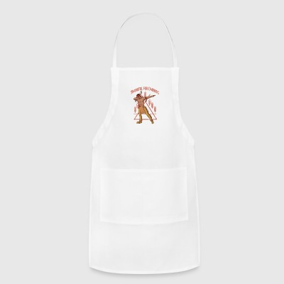 Native American Thankful for Dabbing - Adjustable Apron