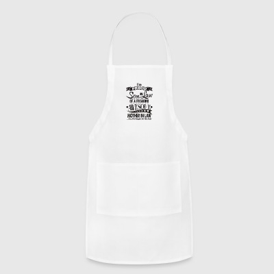 Im a proud son in law of awome mother in law - Adjustable Apron