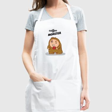 COFFEE MONSTER - Adjustable Apron