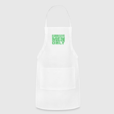 Submissive men only - Adjustable Apron