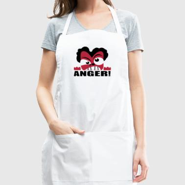 Anger Face - Adjustable Apron