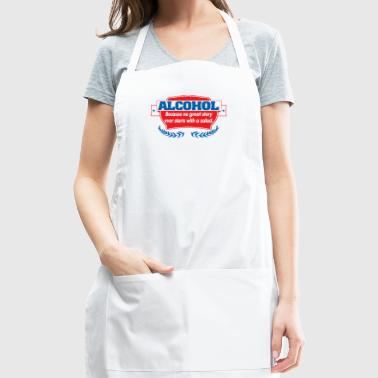 Alcohol Salad - Adjustable Apron