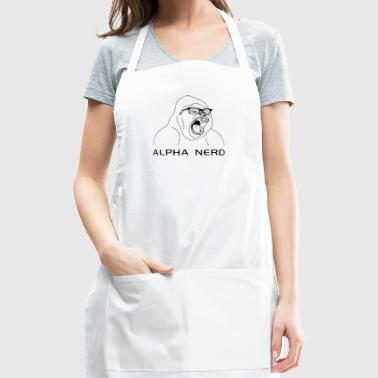 Alpha Nerd - Adjustable Apron