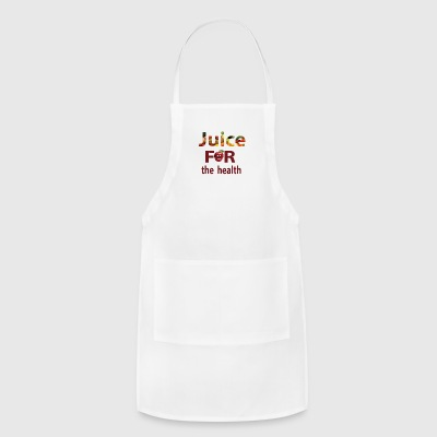 Best and funny t-shirt design of fruit - Adjustable Apron