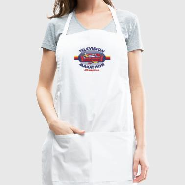 Television Marathon Champion - Adjustable Apron