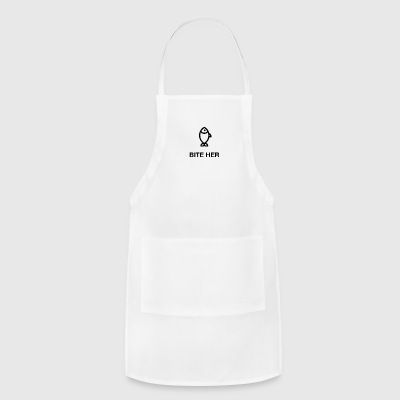 VALENTINES DAY FISHING COUPLE TEE - Adjustable Apron