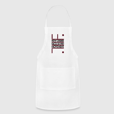 New Order Movement Factory 1981 - Adjustable Apron