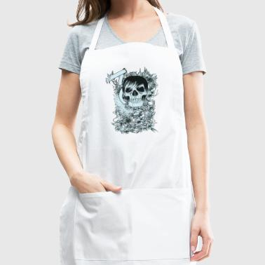 cool skull - Adjustable Apron