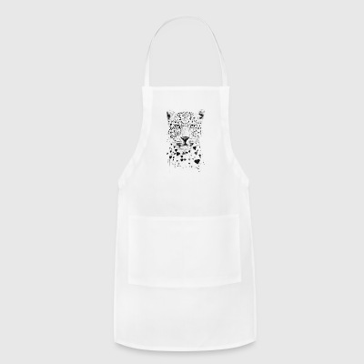 Lovely Leopard - Adjustable Apron