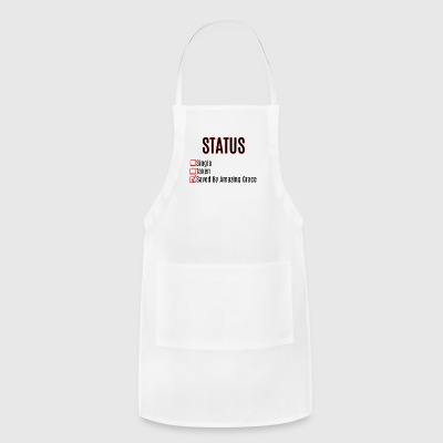 Saved By Amazing Grace - Adjustable Apron