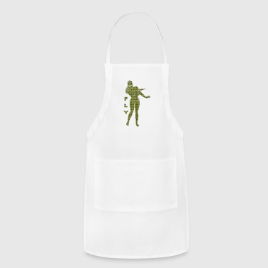 FLY_PIN_UP_GIRL_FABRIK - Adjustable Apron