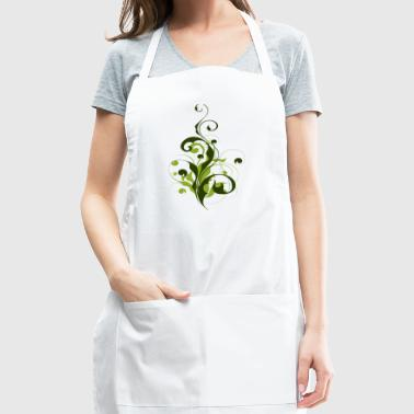 Abstract Flora - Adjustable Apron