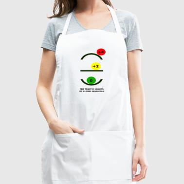 The Traffic Lights of Global Warming - Adjustable Apron