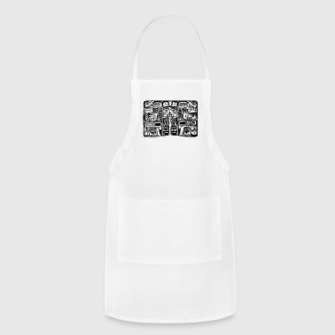 Haida Block Print - Adjustable Apron