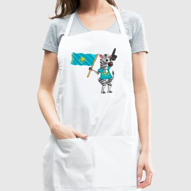 A Kazakhstani Zebra - Adjustable Apron