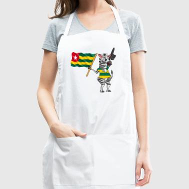 A Togolese Zebra - Adjustable Apron