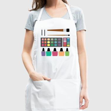 art painting colors - Adjustable Apron