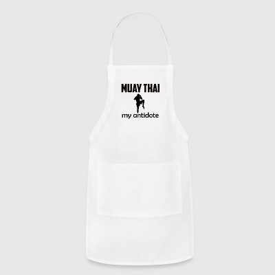 muay_thai design - Adjustable Apron