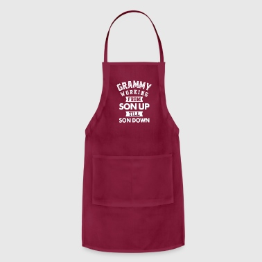 Grammy Grammy Working - Adjustable Apron