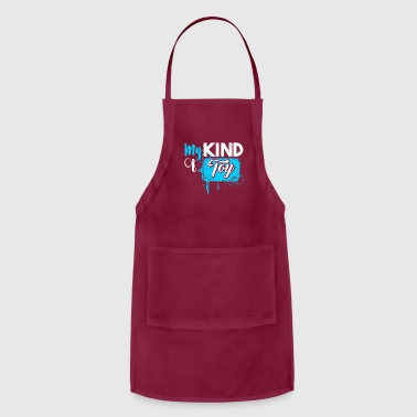 My Kind of Toy funny gift idea sex - Adjustable Apron