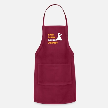 Slow Slow Fox - gift for men and women - Adjustable Apron