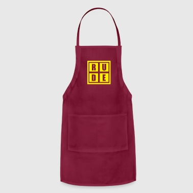 Rude Rude - Adjustable Apron