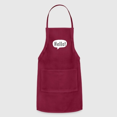 Hello Hello! - Adjustable Apron