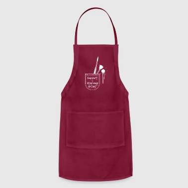 Support a Starving Artist - Adjustable Apron
