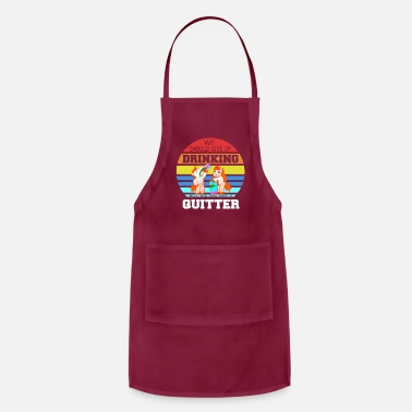Geographic Drinking Buddies Drink Beer Wine Tshirt Gift - Apron