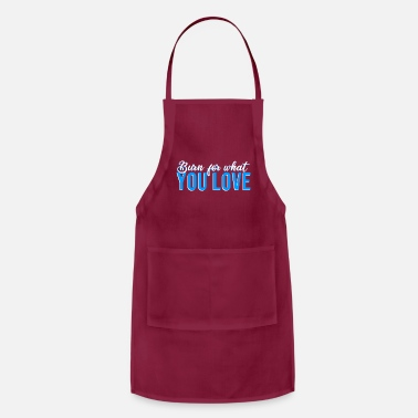 Simple Burn for what you love2 - Apron