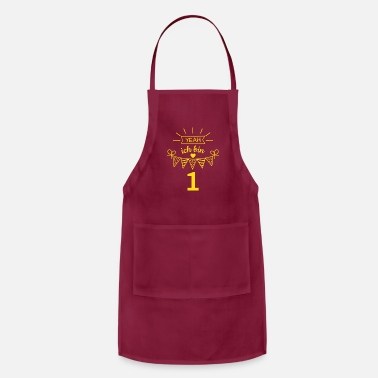 Children's Birthday Party Yeah I'm one birthday present for kids - Apron