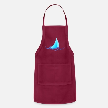 Verão Summer - Wave - Design - Water - Vacation - Apron