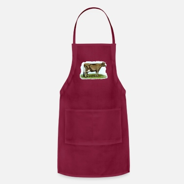Cow Jersey Dairy Cow - Apron