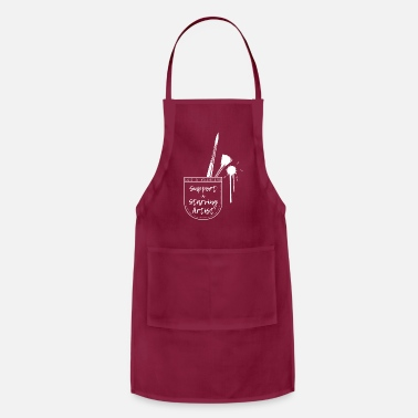 Artist Support a Starving Artist - Adjustable Apron