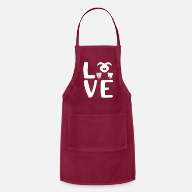 Sloth Love Sloths - Apron