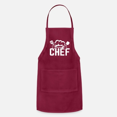 Knife Artistic Cook Cooking Graphic Design Hat Chef - Apron